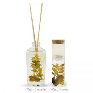 036HE Fleur Diffuser & 037HE Candle Herbal Bundle Promo